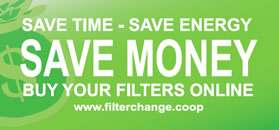 Save time, save energy, save money, buy your filters online