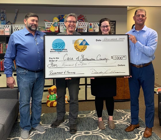 CASA of Yellowstone County received $5,000