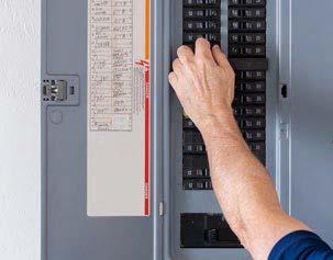 hand switching on breaker